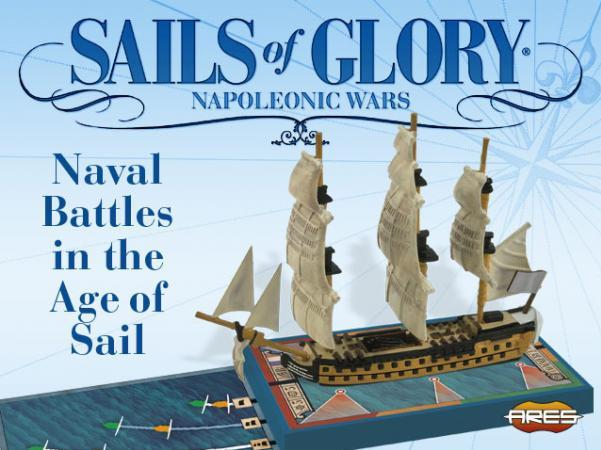 Sails of Glory: Hermione 1779  French Frigate Ship Pack