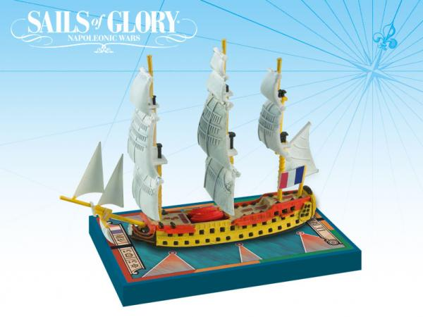 Sails of Glory - French: Le Berwick 1795 S.o.L. Ship Pack