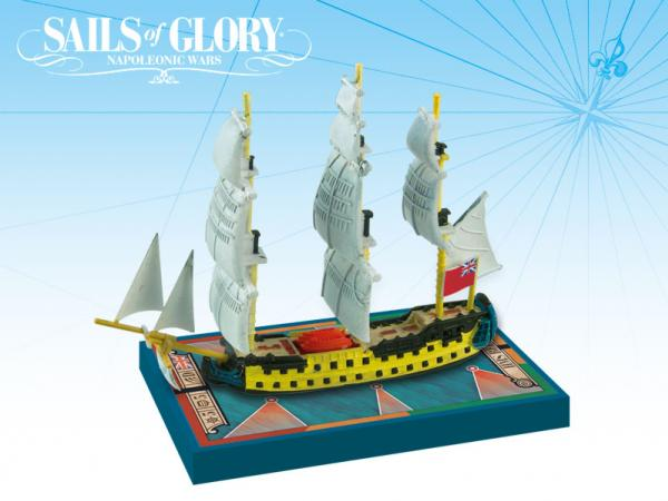 Sails of Glory - British: HMS Bellona 1760 S.o.L. Ship Pack