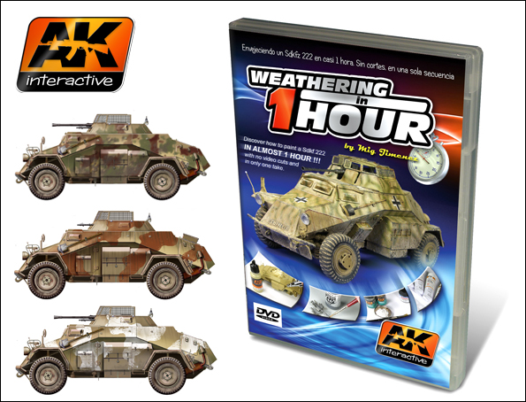 Weathering a Sdkfz 222 in One Hour DVD