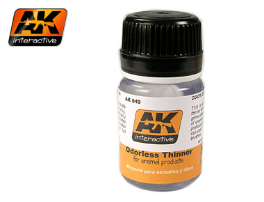 AK Odorless Turpentine 35 ml Bottle