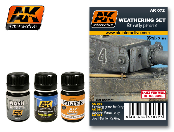 AFV Weathering Set- Early Panzers