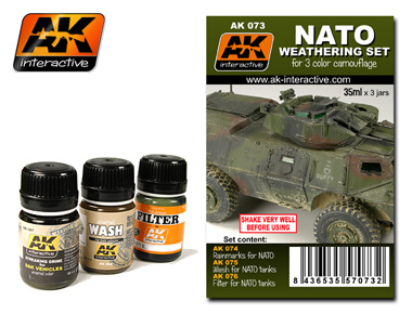 AFV Weathering Set- NATO