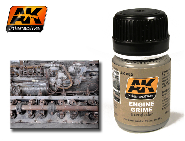 Streaking Effects- Engine Grime for All Vehicles 35ml Bottle