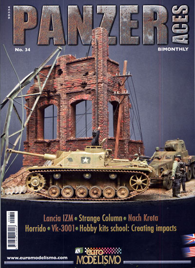 Armor Models-Panzer Aces Magazine Issue 34