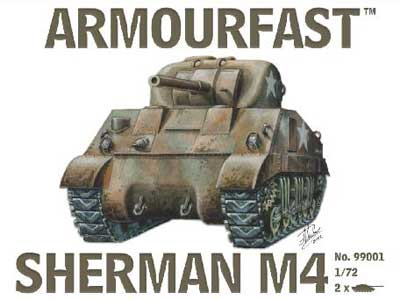 WWII US Sherman M4 Medium Tank