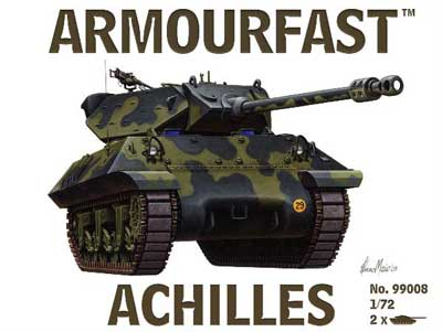 WWII US AchillesvTank Destroyer