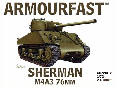 WWII US Sherman M4A3 76mm