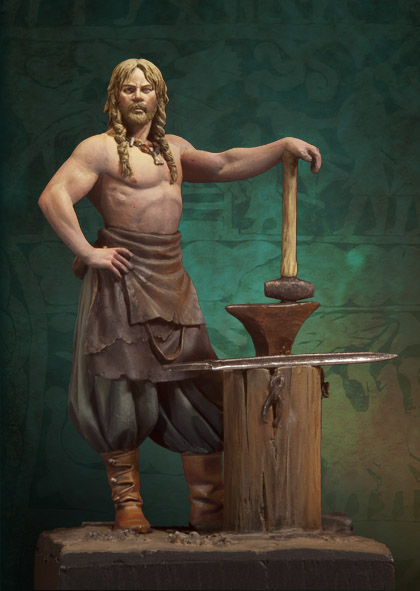 The Vikings: Norse Blacksmith 750 A.D.