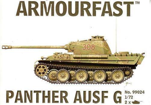 WWII German Panther Ausf. G Tank