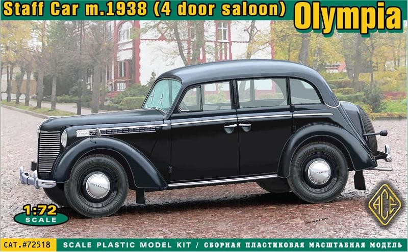 WWII Staff Car Olympia Model 1938 Saloon