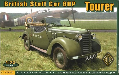 WWII British 8HP Tourer Staff Car