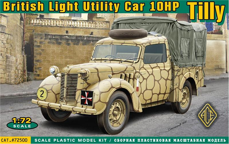 WWII British 10hp Tilly Light Utility Car