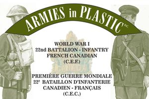 WWI French Canadian (C.E.F.) 22nd Battalion-Infantry