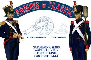 Napoleonic French Line Foot Artillery - Waterloo 1815