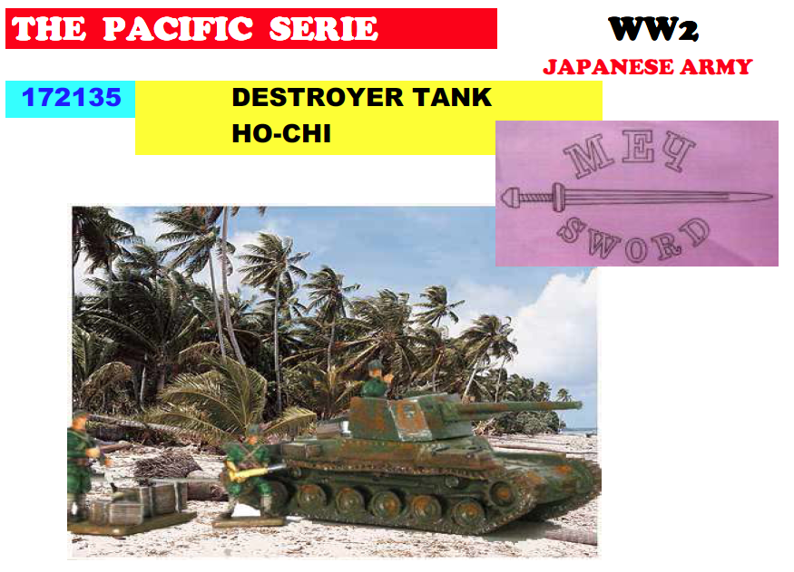 WWII Japanese Ho-NI Tank Destroyer ONLY 1 AVAILABLE