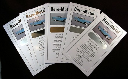 Bare Metal Foil 6 x 11 Thin Sheet Chrome Foil