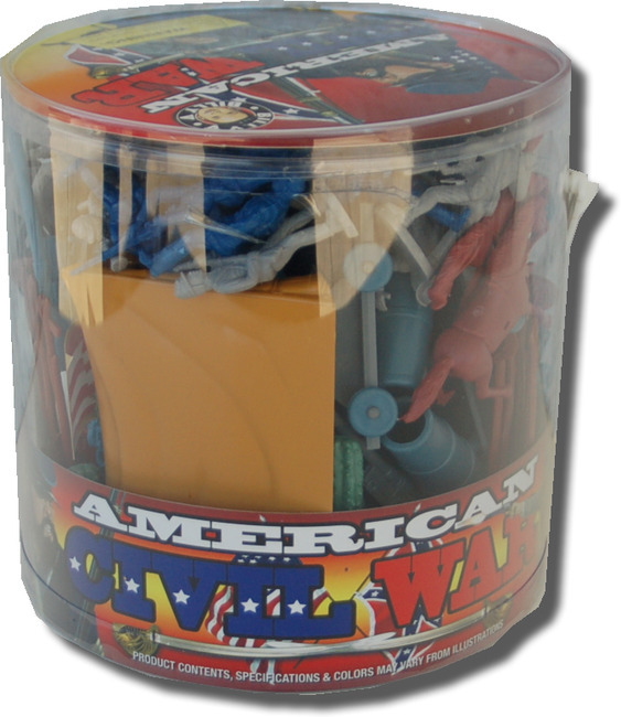 Battle Bucket - American Civil War 73 pcs.