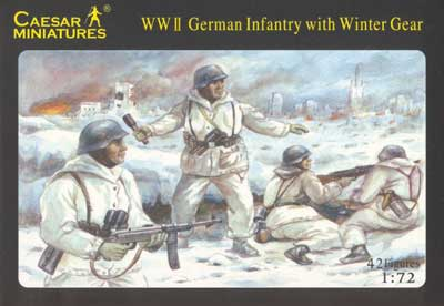 WWII German Infantry in Great Coats