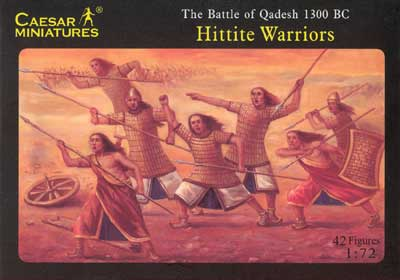 Biblical Hittite Warriors, Battle of Qadesh 1300 BC