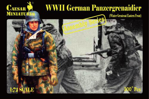 Military Series: WWII German Panzergrenadiers (Winter Greatcoats, Eastern Front) - Assembly Series