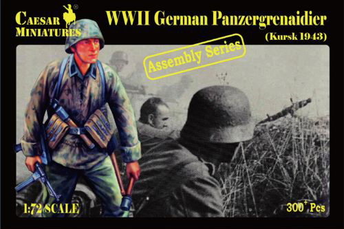 Military Series: WWII German Panzergrenadiers (Kursk 1943) - Assembly Series
