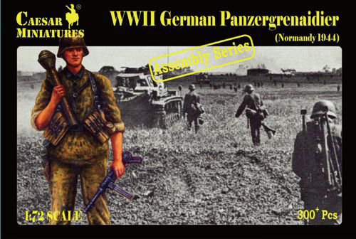 Military Series: WWII German Panzergrenadiers (Normandy 1944) - Assembly Series