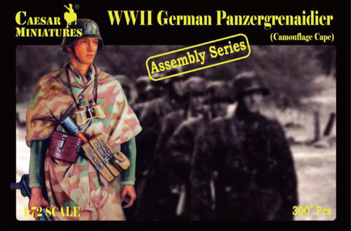 Military Series: WWII German Panzergrenadiers (in Camouflage)- Assembly Series
