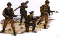 Soviet VDV Air Assault Force Soldiers