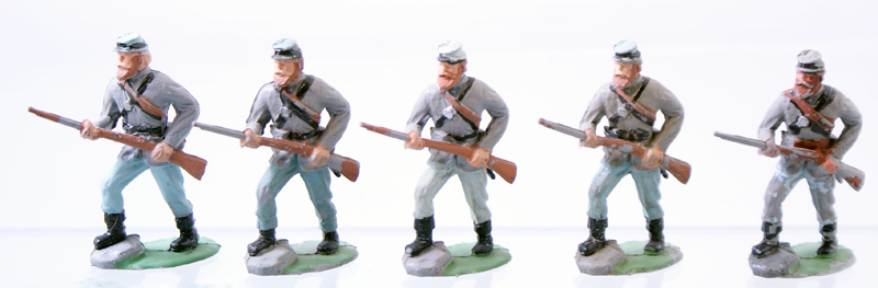 Timpo Confederate Infantry