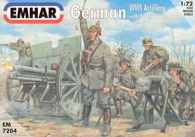 WWI German Artillery