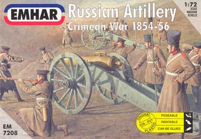 Crimean War Russian Artillery