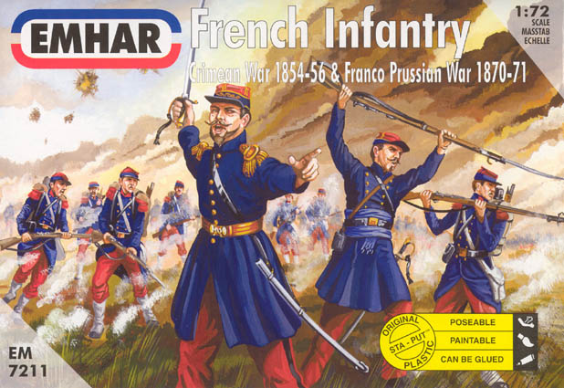 Crimean War French Infantry
