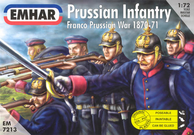Franco-Prussian War Prussian Infantry