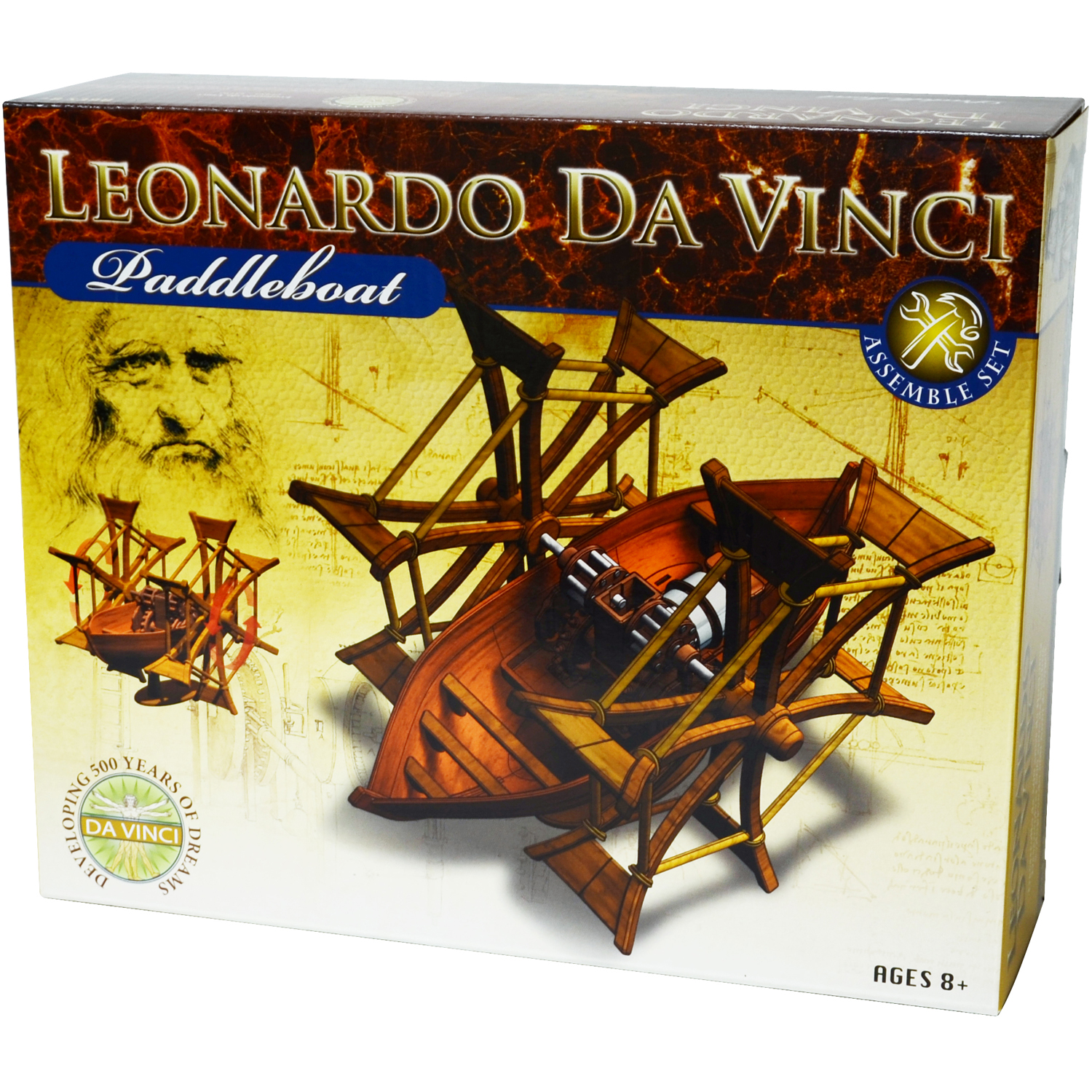 DaVinci Paddleboat Kit