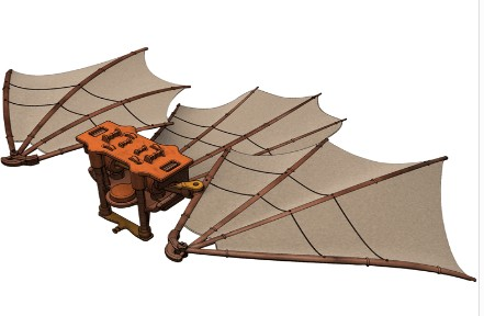 Da Vinci Great Kite Kit