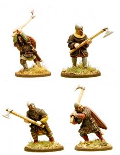 Gripping Beast Anglo-Danish Huscarls with Axes