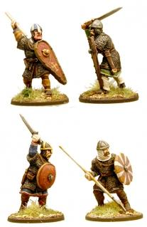 Gripping Beast Anglo-Danish Huscarls with Spears