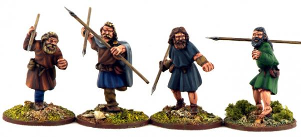 - 28mm Jomsviking Dreng One SJ04 SAGA Gripping Beast warriors