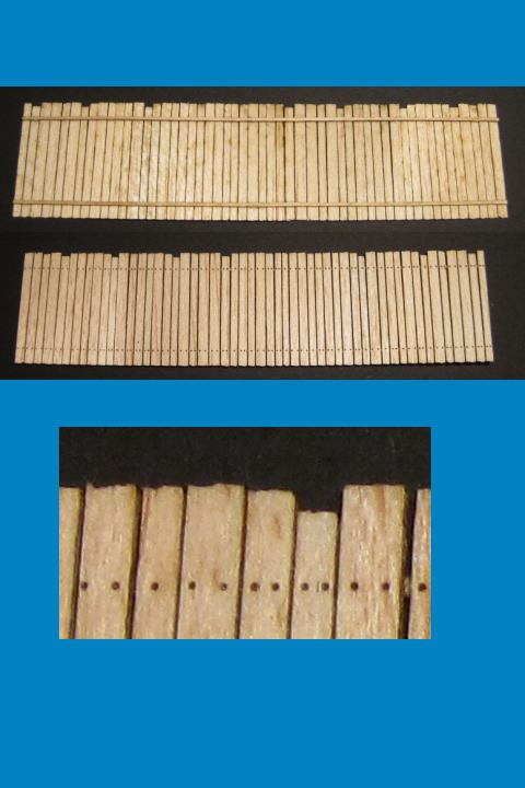 Wooden Fence #2 - 2 Sections - ONLY 2 AVAILABLE AT THIS PRICE