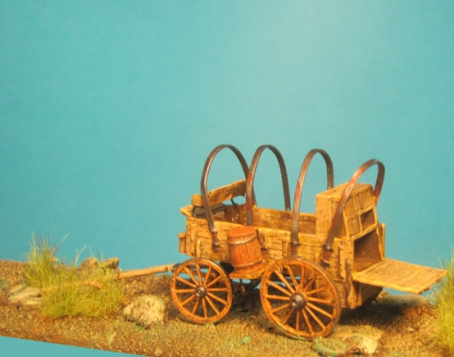 Old West - Chuckwagon in Cooking Position