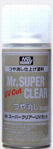 Mr. Super Clear UV Cut Flat