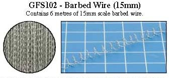 Hobby Rounds- Barbed Wire (15mm)