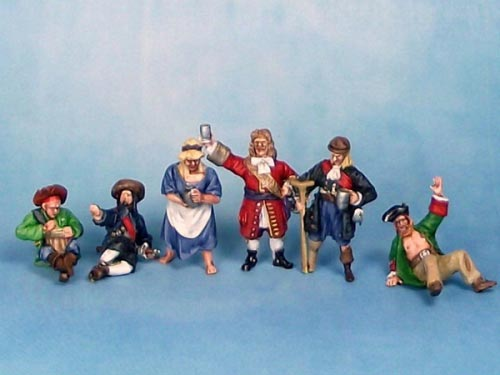 Pirates of the Caribbean Set 7