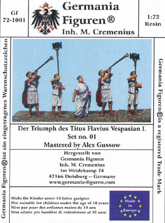 The Triumph of Titus Flavius Vespasian I- Set 1