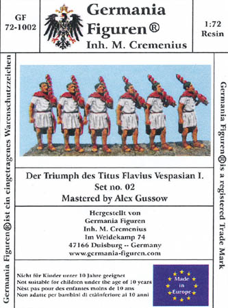 The Triumph of Titus Flavius Vespasian I- Set 2