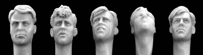 Heads with World War II Haircuts