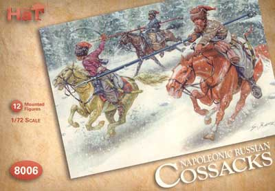 Napoleonic Russian Cossacks & Horses