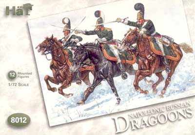 Napoleonic Mounted Russian Dragoons