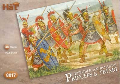 Ancient Roman Republican Princeps & Triari